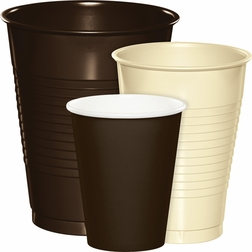 Wholesale Brown & Ivory Party Cups