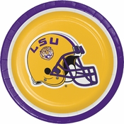 Louisiana State University Dessert Plates 96 ct