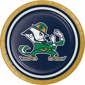 University of Notre Dame Dessert Plates 96 ct