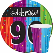 Milestone Celebrations 90th Birthday Party Supplies