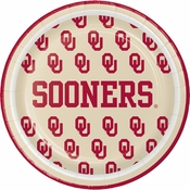 University of Oklahoma Dessert Plates 96 ct