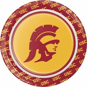 University of Southern California Dessert Plates 96 ct