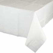 White Paper Tablecloth 24 ct