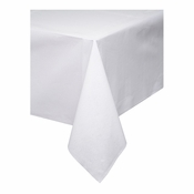 "White Linen-Like 50"" x 108"" Tablecloths are sold in quantities of 1 / pkg, 24 pkgs / case"