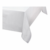 "White Linen-Like 50"" x 54"" Tablecloths are sold in quantities of 1 / pkg, 48 pkgs / case"