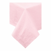 "Pink Cellutex 54"" x 108"" Paper Tablecloths is sold in quantities of 1 / pkg, 25 pkgs / case"