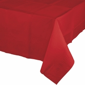 Classic Red Paper Tablecloth 24 ct