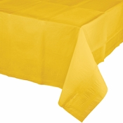 School Bus Yellow Paper Tablecloth 24 ct