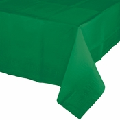 Emerald Green Paper Tablecloth 24 ct