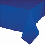 Cobalt Blue Paper Tablecloth 24 ct