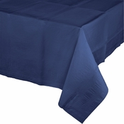 Navy Blue Paper Tablecloth 24 ct