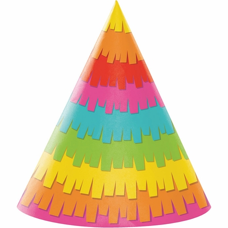 Fiesta Fun Party Hats 48 ct