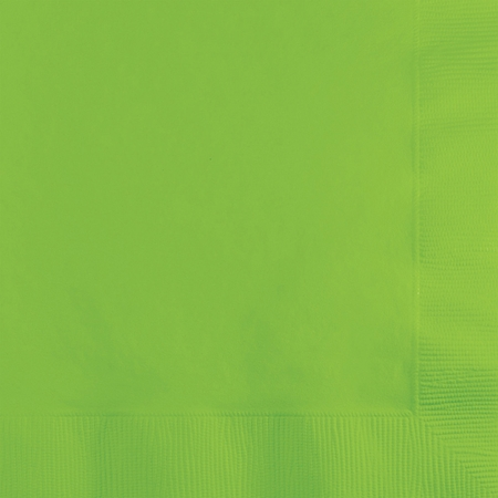 Fresh Lime Green Beverage Napkins 240 ct