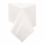 White Cellutex Square Paper Tablecloths are sold in quantities of 1 / pkg, 50 pkgs / case