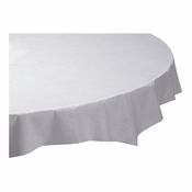White Linen-Like Octy-Round Tablecloths are sold in quantities of 1 / pkg, 24 pkgs / case