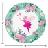 Floral Fairy Sparkle Dinner Plates 96 ct