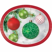 Ornaments Oval Plates 96 ct