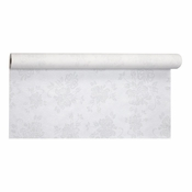 Silver Prestige Linen-Like Banquet Table Roll is sold in quantities of 1 / pkg, 1 pkg /case