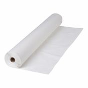 "Bright White 40""x 300 Banquet Table Roll is sold in quantities of 1 / pkg, 1 pkg /case"