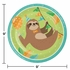 Sloth Party Dinner Plates 96 ct