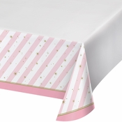 Twinkle Toes Plastic Tablecloths 6 ct