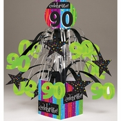 Milestone Celebrations 90th Birthday Centerpieces 6 ct