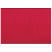 "11"" x 16"" Red Pebble-Embossed Plastic Placemats 250 ct"