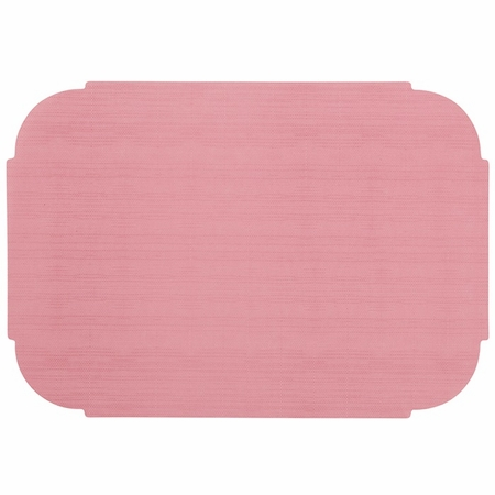 """Dusty Rose 9.75"""" x 14"""" Decorator Placemat in quantities of 1000 / case"""