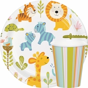 Happi Jungle 1st Birthday Party Supplies