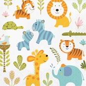 Happi Jungle Luncheon Napkins 192 ct