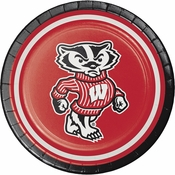 University of Wisconsin Dessert Plates 96 ct