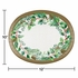 Golden Holly Oval Plates 96 ct