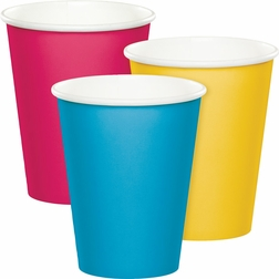Wholesale 9 oz. Disposable Paper Cups