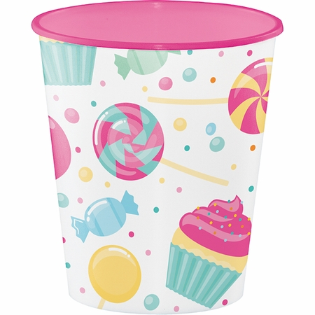 Candy Bouquet Plastic Cups 12 ct