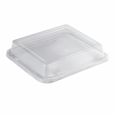 Earth Wise Tree Free 250 ct Clear Lid for 38 oz Container sold in 5 pkgs of 50
