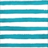 Peacock Blue Dots and Stripes Beverage Napkins 288 ct