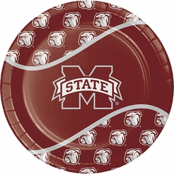 Root for your team with our brightly colored Mississippi State Tableware items, available in bulk pricing.