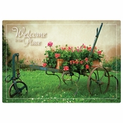 "10"" x 14"" Welcome to Our Place Paper Placemats 1000 ct"
