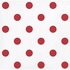 Red Polka Dots and Stripes Beverage Napkins 192 ct