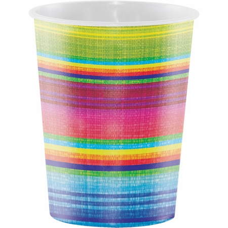 Serape 16 oz Plastic Cups 96 ct