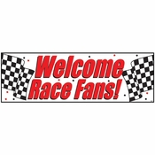 Racing Giant Party Banners 6 ct