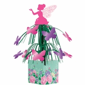 Floral Fairy Sparkle Centerpieces 6 ct