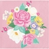 Floral Tea Party Beverage Napkins 192 ct