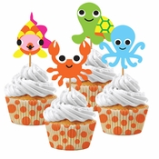 Ocean by French Bull Cupcake Kits 72 ct