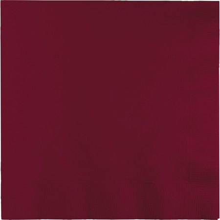 Burgundy Dinner Napkins 3 Ply 250 ct