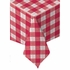 Red Check Linen-Like Tablecloths are sold in quantities of 1 / pkg, 24 pkgs / case