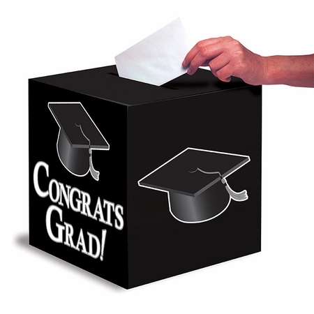 Graduation Card Boxes Black