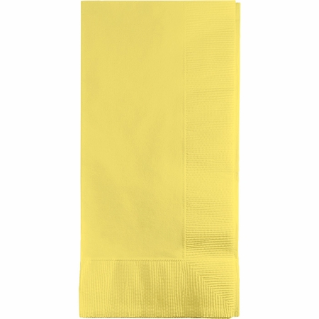 Touch of Color Mimosa 2 Ply Dinner Napkins in quantities of 50 / pkg, 12 pkgs / case