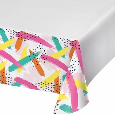 Cupcake Chic Plastic Tablecloths 12 ct