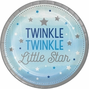 One Little Star Boy Dessert Plates 96 ct